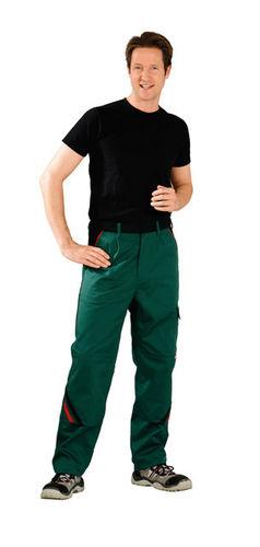 Arbeitshose grün Kniepolstertasche Arbeitskleidung Bundhose Handwerk Garten Maco